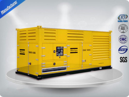 China Containerized diesel generatorreeksen, containergenerator, diesel generator met container fabriek
